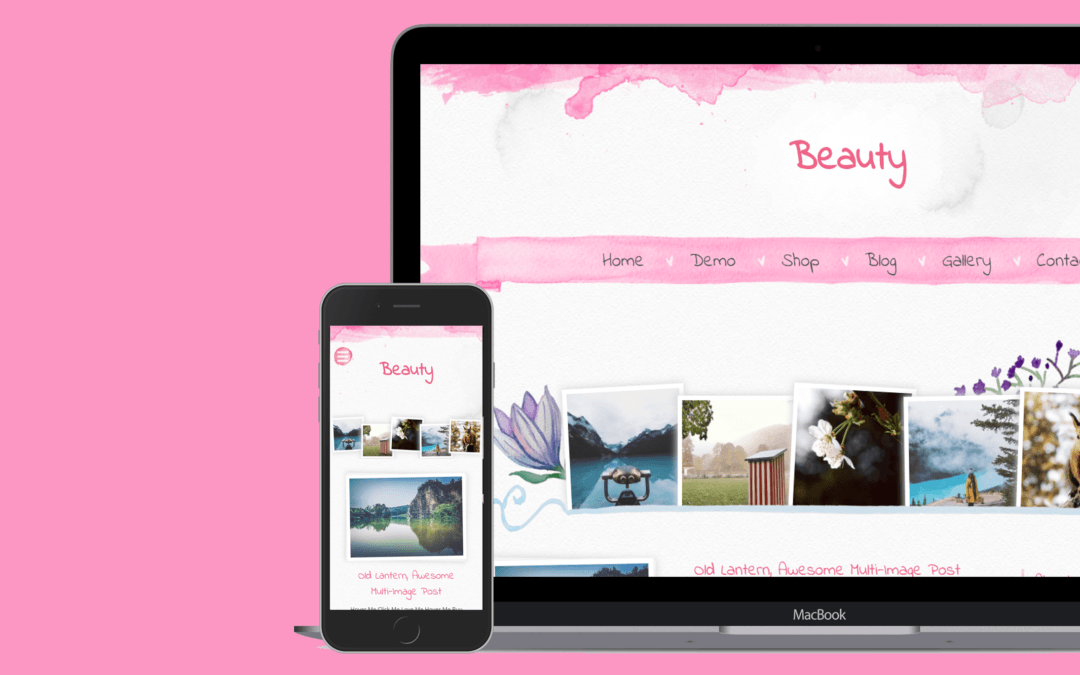 Beauty Blogger Template