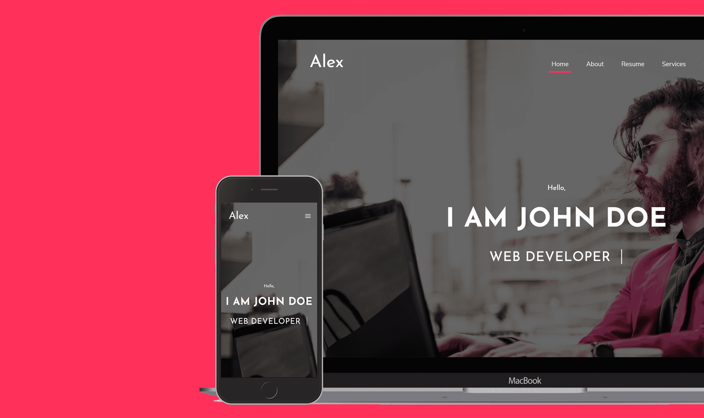 Alex Blogger Template