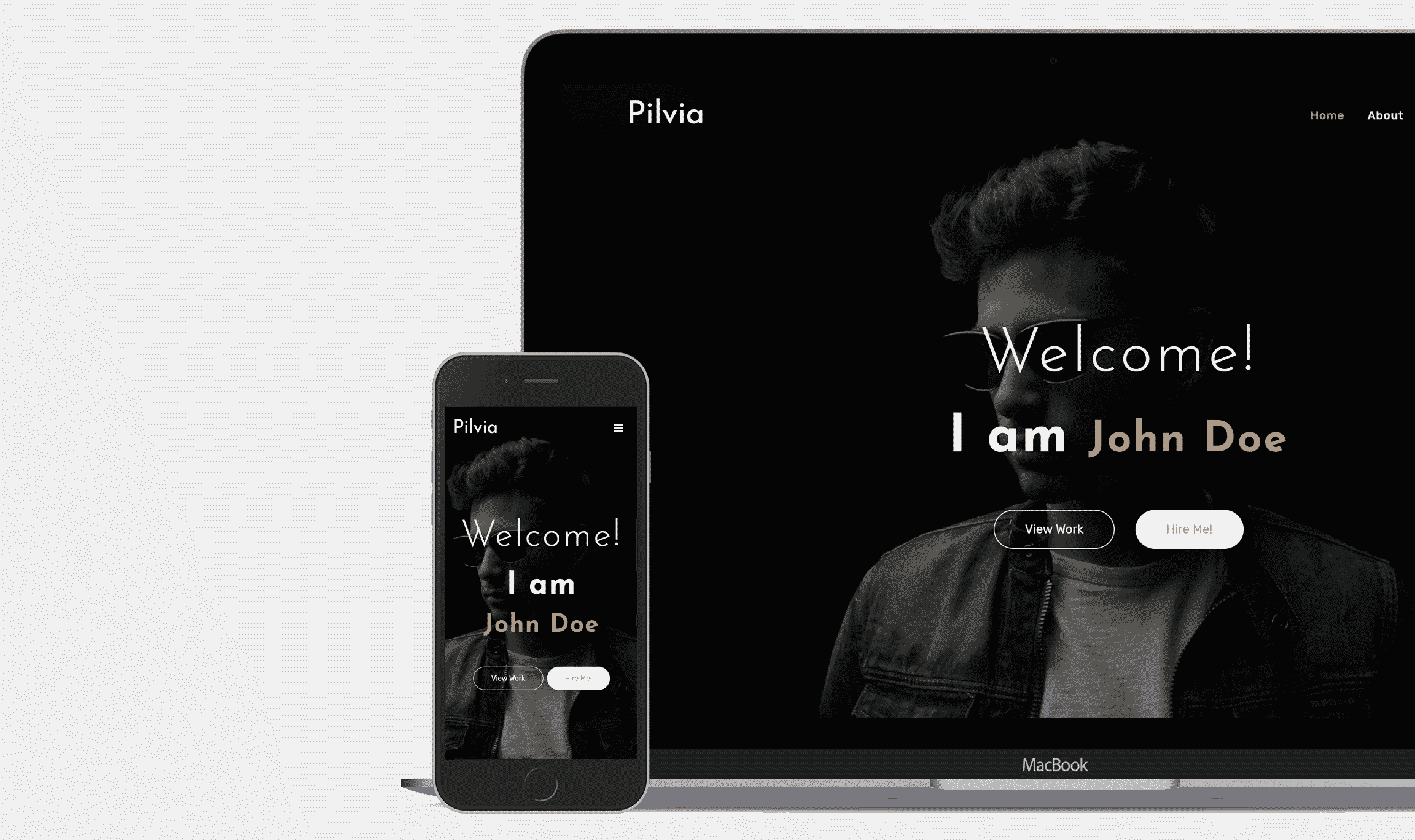 Pilvia Blogger Template