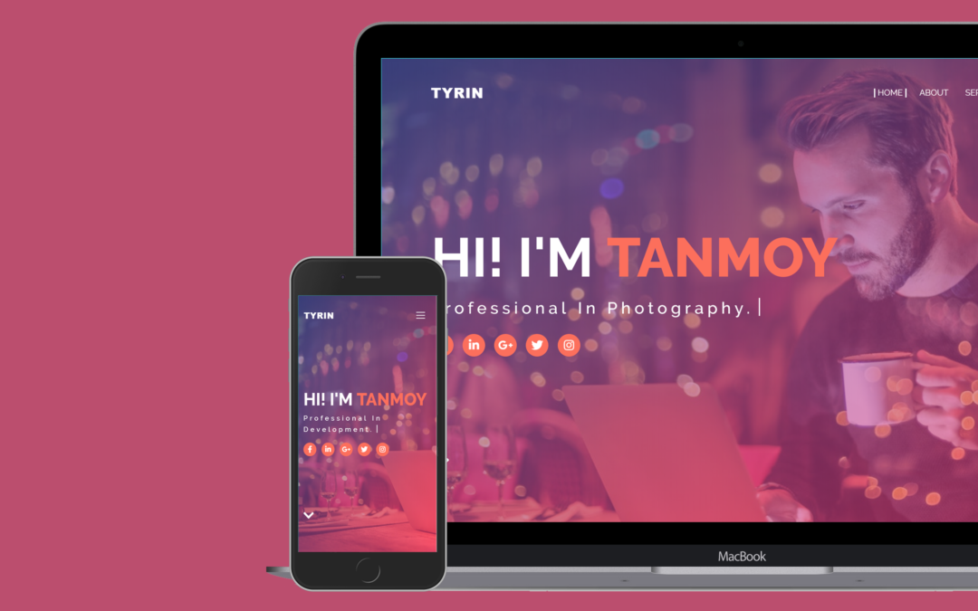 Tyrin Responsive Blogger Template